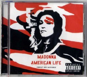 AMERICAN LIFE - USA 6 TRACK CD MAXI SINGLE (SEALED)